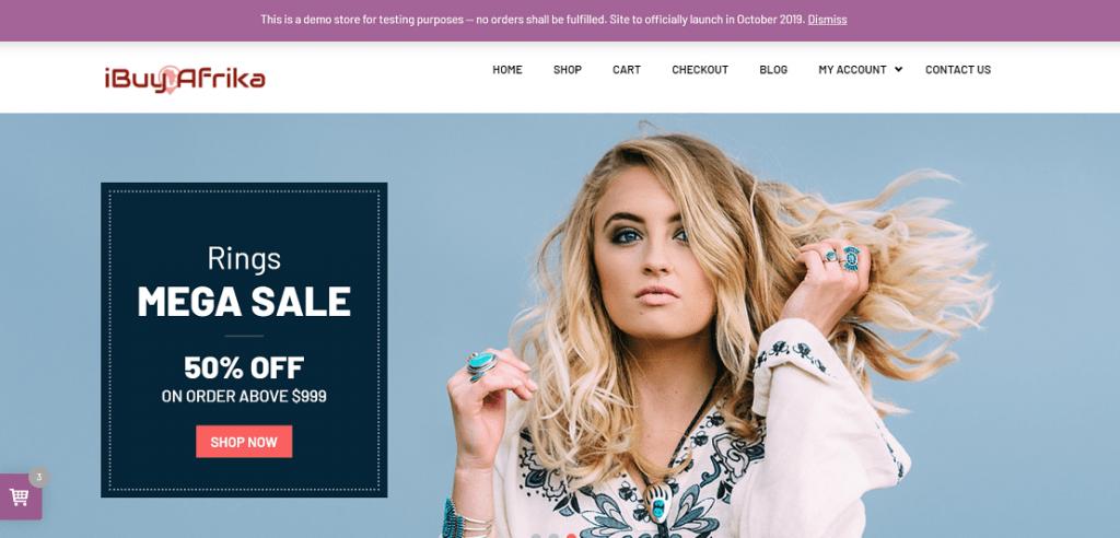 iBuy Afrika – online store